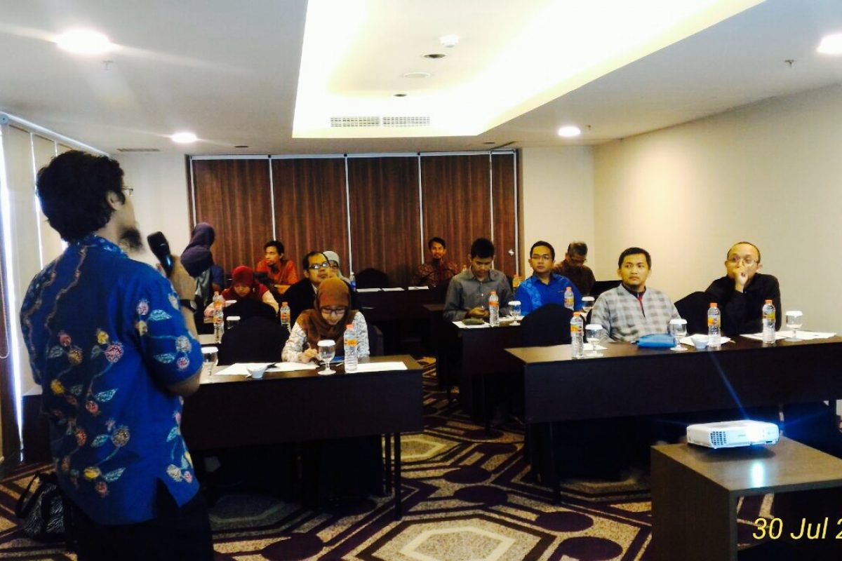 Pelatihan Penulisan Artikel Ilmiah Untuk Dipublikasikan Pada Jurnal Internasional Bereputasi