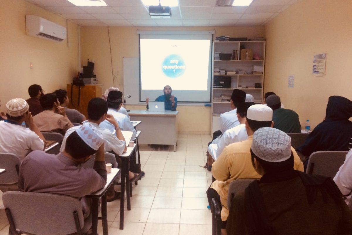 Pertemuan KIPMI bersama mahasiswa Indonesia di Universitas Islam Madinah